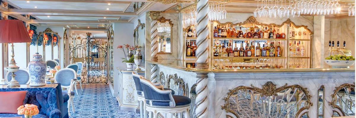 SS Maria Theresa, Lounge Habsburgo