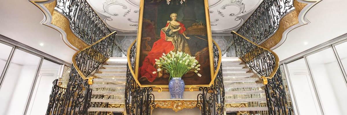 SS Maria Theresa, Vestíbulo