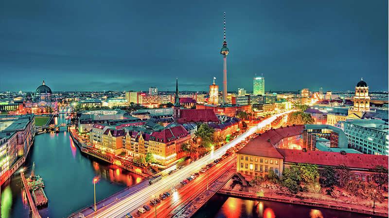 Crucero fluvial de Berlín a Ámsterdam