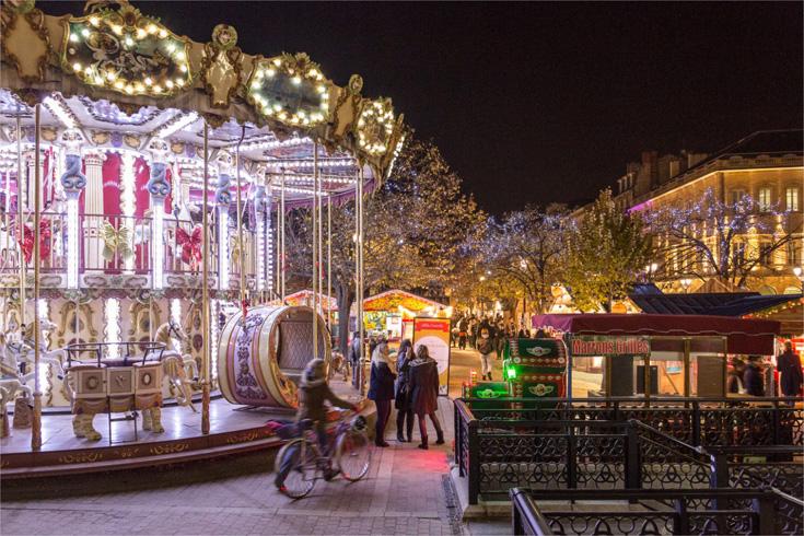 Navidad en Burdeos por el Garona