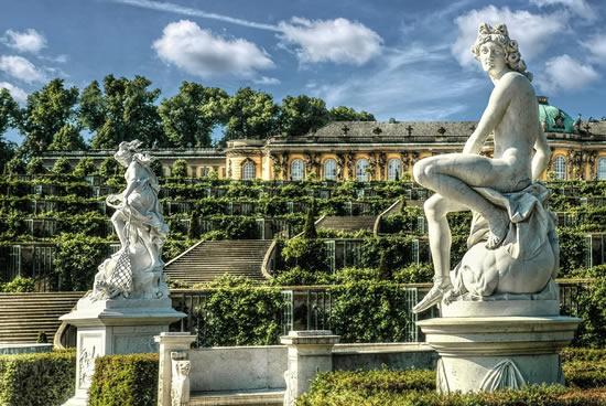 Potsdam, Palacios y Jardines