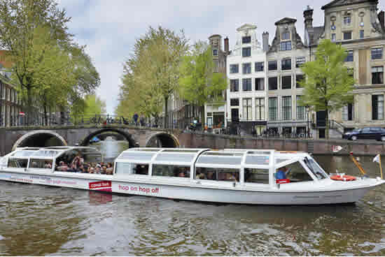 Amsterdam, bateau mouche