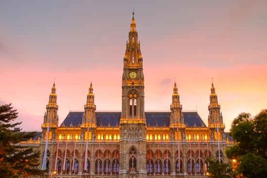 Viena iluminada, Ayuntamiento