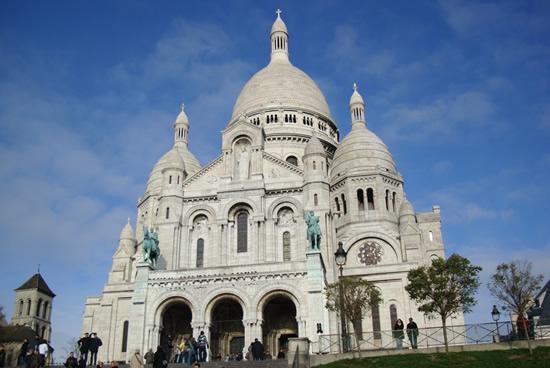 Paris, Montmartre, Basilica del Sagrado Corazón