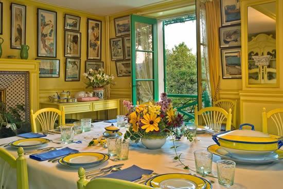 Fundación Claude Monet en Giverny, comedor