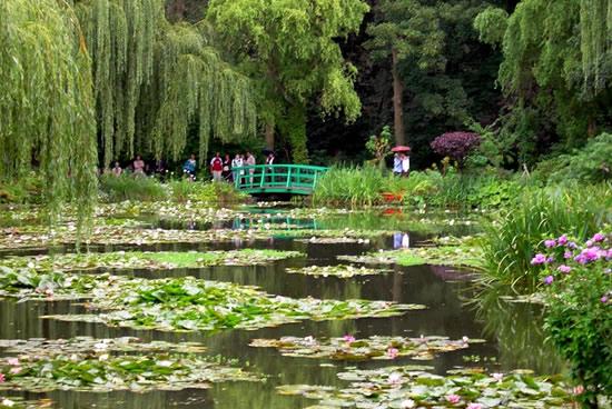 Fundación Claude Monet en Giverny, jardines