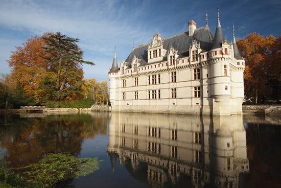Castillo de Azay-le-Rideau, Loira