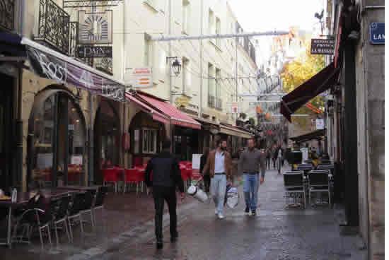 Calles de Bouffay, Nantes