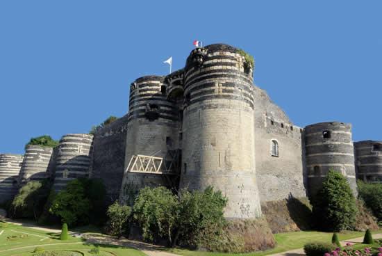 Fortaleza del rey René, Angers