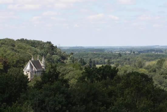 Cornisa Angevina, Valle del Loira