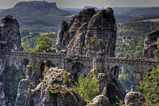 Elbsandsteingebirge, cadena montañesa del Elba