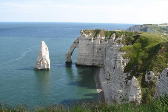 Acantilados d'Etretat y Le Havre