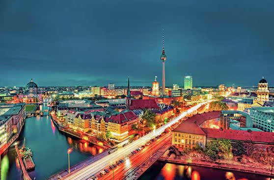 Berlín de noche