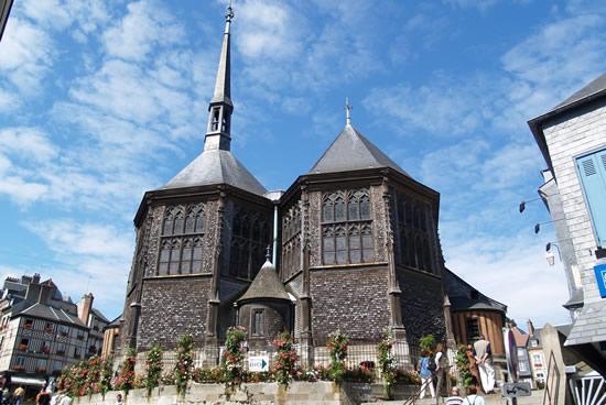 Honfleur, Iglesia de Santa Catalina