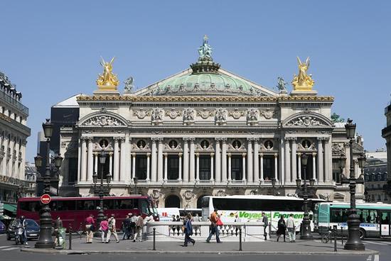 París, Opera Garnier