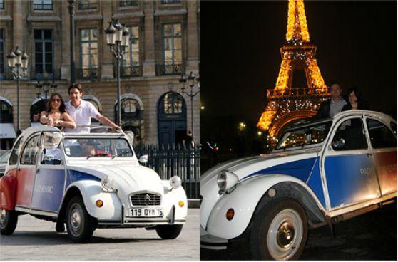 Paris en Vehiculo 2CV