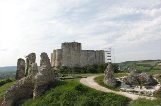 Paseo al Castillo Gaillard