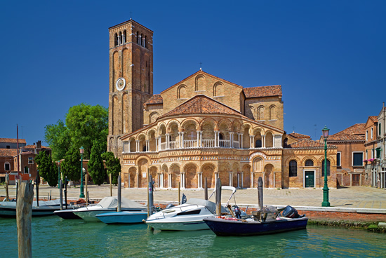 Murano, Basilica de St. Mary, Italia