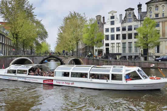 Ámsterdam, bateau mouche