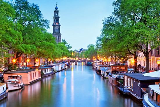 Ámsterdam, Canales