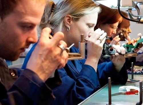 Ámsterdam, taller de diamantes