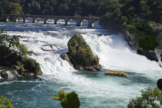 Cataratas del Rin, Suiza