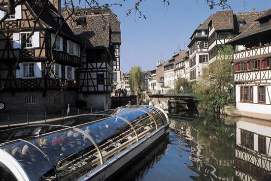 Estrasburgo, bateau mouche