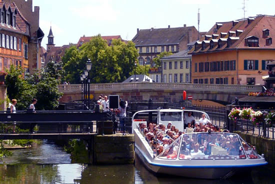 Estrasburgo en bateau-mouche