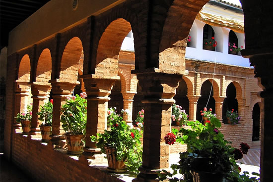 Monasterio de La Rábida claustro, Huelva