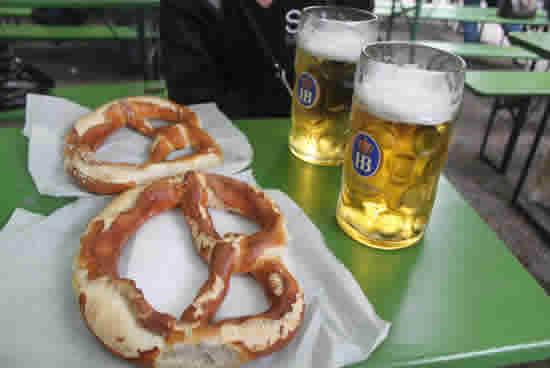 Munich, cervezas