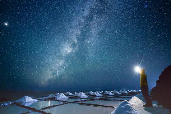 Observación de estrellas, La Palma