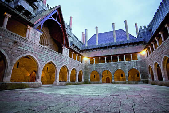 Palacio de los Duques de Braganza, Guimaraes Portugal