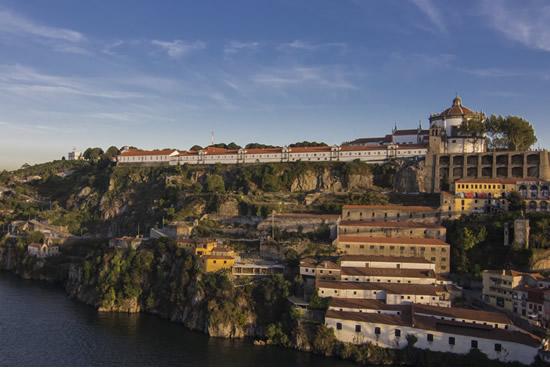 Panoramica de Vila Nova de Gaia Portugal