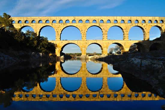 Puente Gard, Provenza