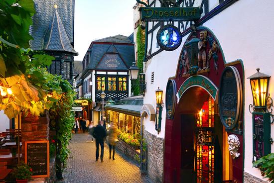 Rudesheim, Ciudad Alemania