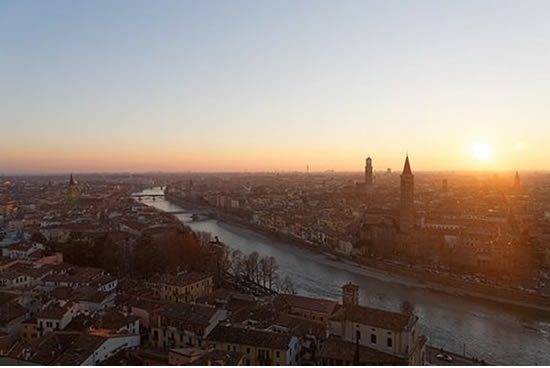 Verona, Panoramica Italia