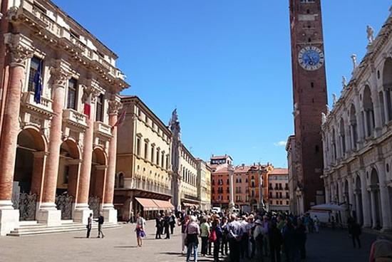 Vicenza, Centro ciudad Itali