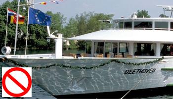 ¿Hay libre acceso a todos los lugares del barco?