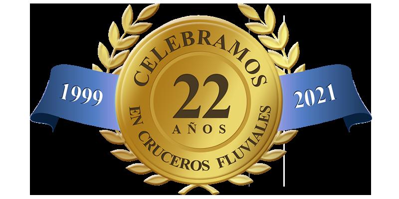 Celebramos 22 años en cruceros fluviales
