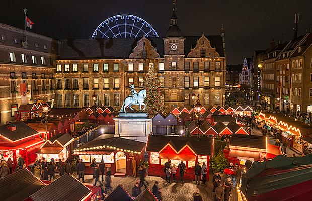 Mercadillo de Navidad, Dusseldorf