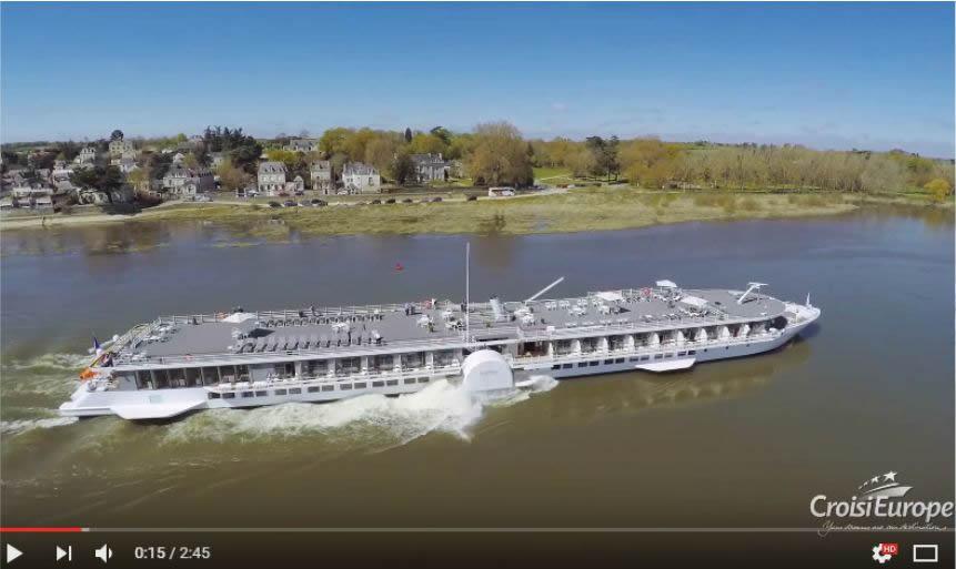 Crucero por el Loira con el MS Loire Princess