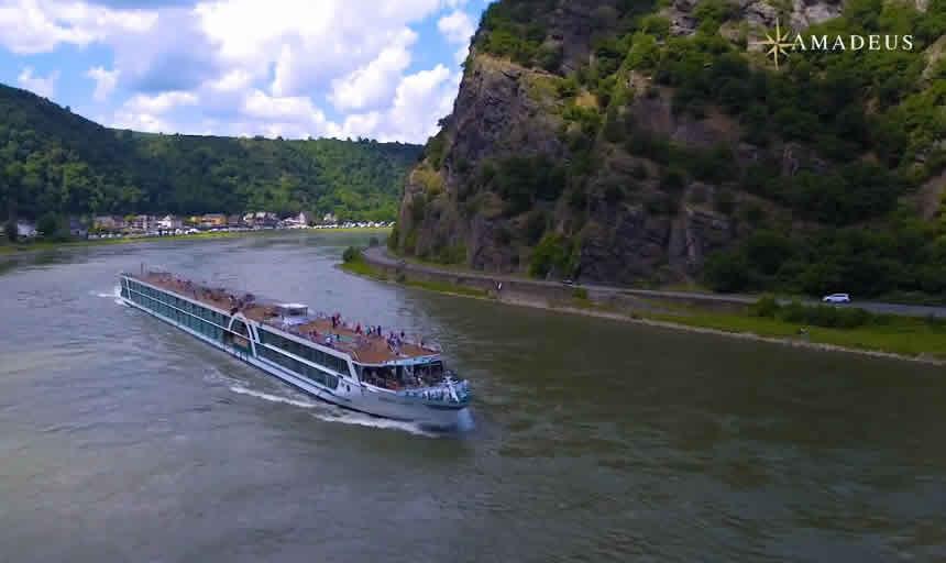 Crucero Clásico por el Rin con Amadeus